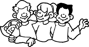 kids group coloring page wecoloringpage