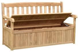 storage bench outdoor wooden outdoor storage bench seat australia
