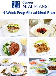 diabetic lunch meals easy 4 week diabetic meal plan