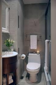 small bathroom design ideas with ceramic flooring toilet round