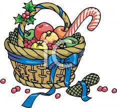 christmas food baskets christmas food basket clip 23