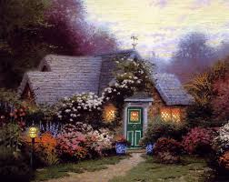 44 best i want to live in a kinkade painting images on