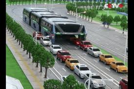 china is investigating that weird traffic straddling bus which