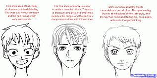 shonen hairstyles drawn manga shonen pencil and in color drawn manga shonen