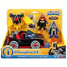 imaginext batmobile with lights fisher price imaginext dc super friends batmobile w lights red