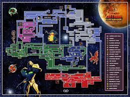 Metroid Nes Map Sm Super Metroid Cliffhanger E