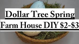 dollar tree spring 2 3 diy 2017 bird nest farm house home