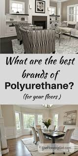 which are the best brands of polyurethane for floors