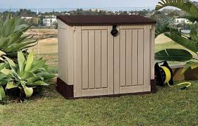 Suncast Resin Glidetop Outdoor Storage Shed by Amazon Com Keter Store It Out Midi 4 3 X 2 5 Outdoor Resin