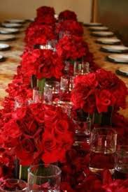 Red Rose Table Centerpieces by Red Dinner Table Set 1st Pic Valentine Centerpieces Pinterest