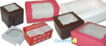 bakery cake cupcake boxes with without windows wholesale prices