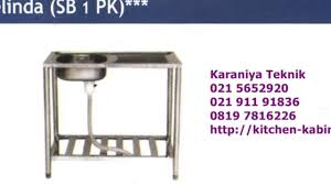 Kitchen Sink Portable Royal Type Belinda  SB  PK  YouTube - Kitchen sink portable