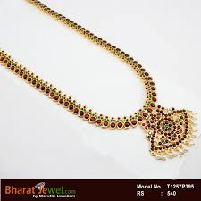 red necklace online images Red green kempu stone designar haram temple haram dance jpg