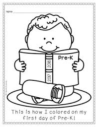 coloring pages pre k first and last day of school coloring pages by a spoonful of learning