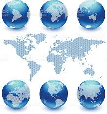 Free Vector World Map by World Map And Globe Set Royalty Free Vector Art Stock Vector Art