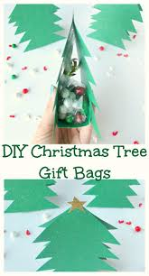 diy christmas tree gift bags val event gal