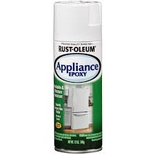 what s the best spray paint for kitchen cupboards rust oleum specialty 12 oz appliance gloss white epoxy spray paint