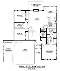 Basement Entry Floor Plans Zion St Aubyn Homes
