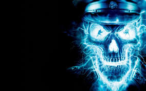 skull background cool wallpapers hd free go media skull wide