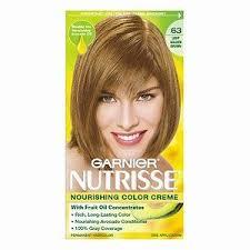 light golden brown hair color garnier nutrisse nourishing color creme in 63 light golden brown