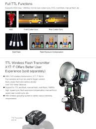 amazon com godox tt350f 2 4g hss 1 8000s ttl gn36 camera flash