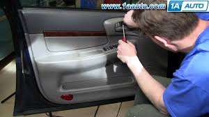 how to install replace remove door panel chevy impala 00 05 1aauto