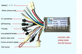 electric bike controller wiring diagram electric motorcycle