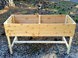 the hard times kitchen a cedar planter for herbs