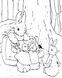 free peter rabbit clipart 37