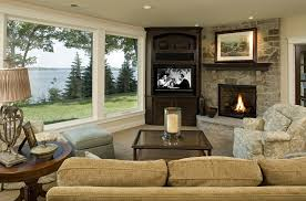 Living Room Furniture Arrangement With Fireplace Interior Design Ideas Living Room Fireplace Furniture Info