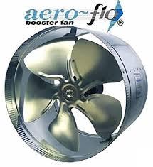 air duct assist fan 10 aero flo 650 high cfms inline duct air booster fan built in
