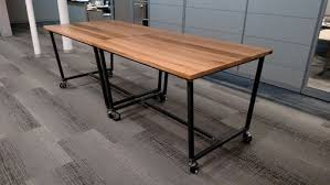 wood top work table large work table dosgildas com