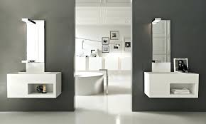 floating vanity shelves essential home shelf with towel bar under