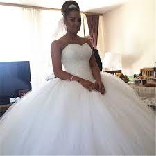 wedding dresses fluffy high quality gown wedding dresses 2016