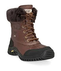 ugg womens adirondack ii boot print ugg adirondack ii cold weather lace up waterproof duck boots