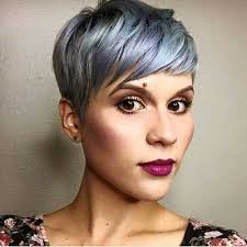 funky hairstyle for silver hair best 25 grey pixie hair ideas on pinterest short gray hair