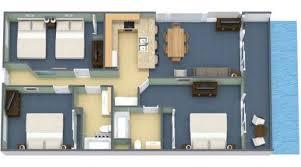 three room apartment 3 bedroom oceanfront condo 2k 2q x