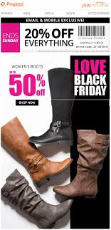 payless shoes black friday 2017 sale bogo deals cyber week 2017
