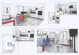 cuisine en perspective cuisine perspective dessin cuisine cuisine design et