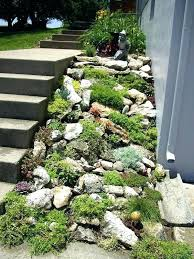 How To Build A Rock Garden Building A Rock Garden On A Slope How To Build A Rock Garden