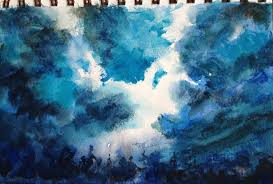 How To Paint A Stormy Sky In Watercolour