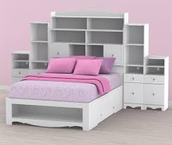 Space Saving Full Size Beds by Pixel Full Size Bed With Storage Headboard And Pink Cushions