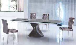 round black glass extending dining table java round extending