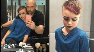8 year old boy gets drag makeup tutorial hodgetwins