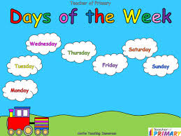 days of the week powerpoint and activities by joop09 teaching