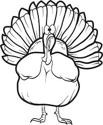 free printable turkey coloring pages free printable turkey coloring page for kids 16