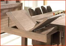 table cuisine avec rallonge table de salle a manger en bois avec rallonge inspirational table de