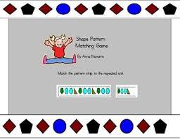 pattern practice games shape pattern matching game shape patterns matching games and