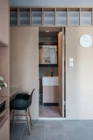 Interior Design For Small Apartment In Hong Kong Jaak Reconfigures Hong Kong Apartment With Space Saving Cabinetry