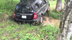subaru forester xt off road 2004 subaru forester xt offroad creek crossing youtube